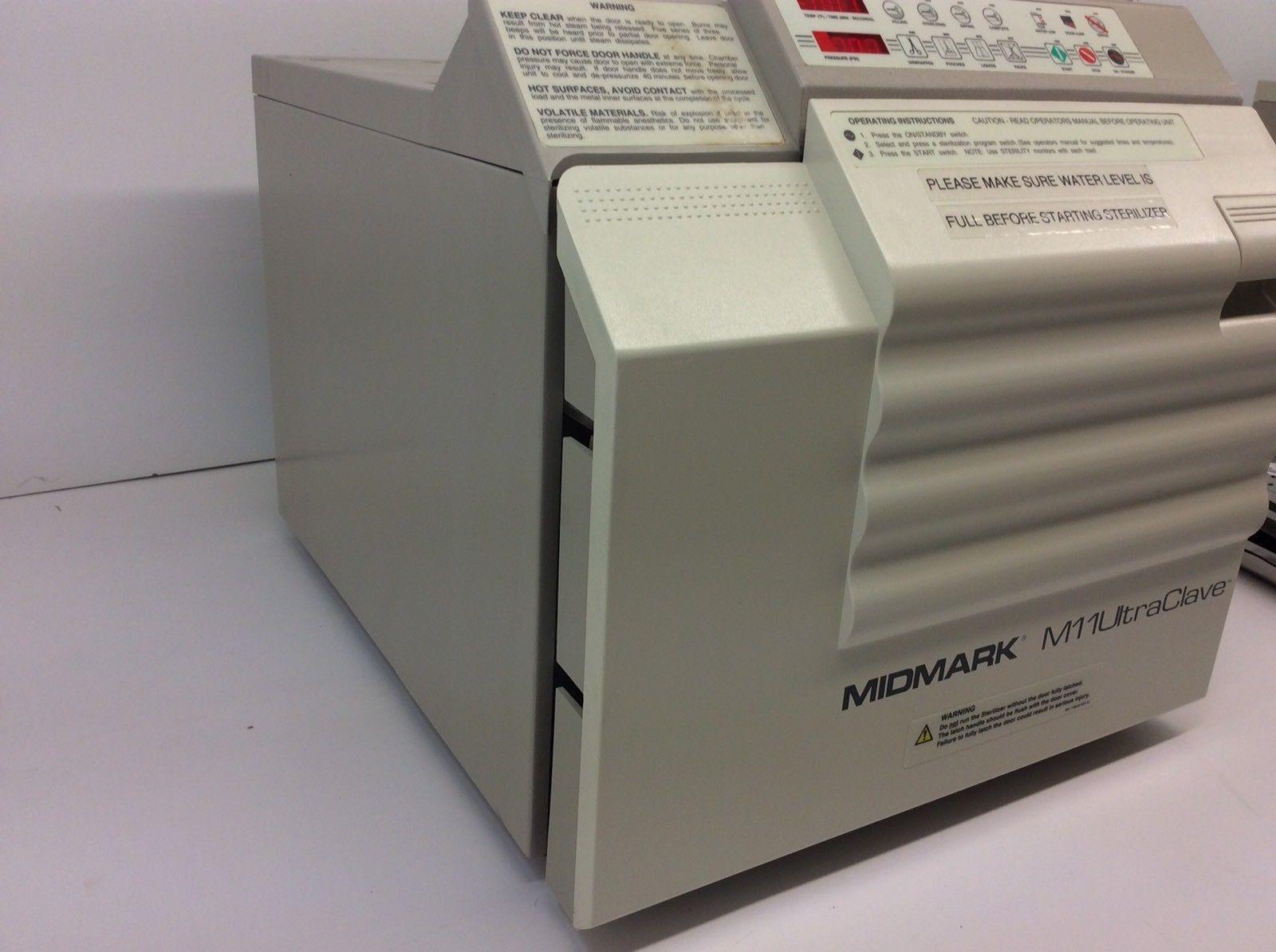 Refurbished Midmark M11 Ultraclave Old Style 1 Yr Wrnty Statim Wiring Diagram Main 3